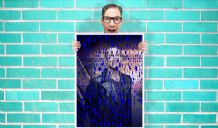 Doctor who christopher eccleston 9th ninth doctor Quotes Art Pint - Wall Art Print Poster   - Purple Geekery